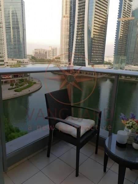 2 Upgraded 2 Bed + Maid with Full Lake View in Green Lakes S2