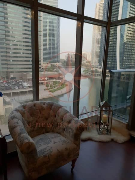 12 Upgraded 2 Bed + Maid with Full Lake View in Green Lakes S2