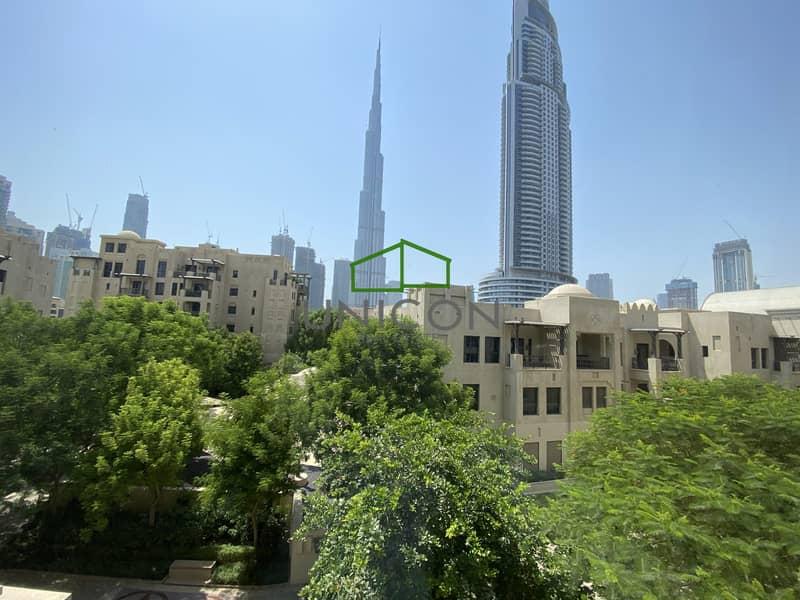 Full burj view -  2bhk - Chiller Free