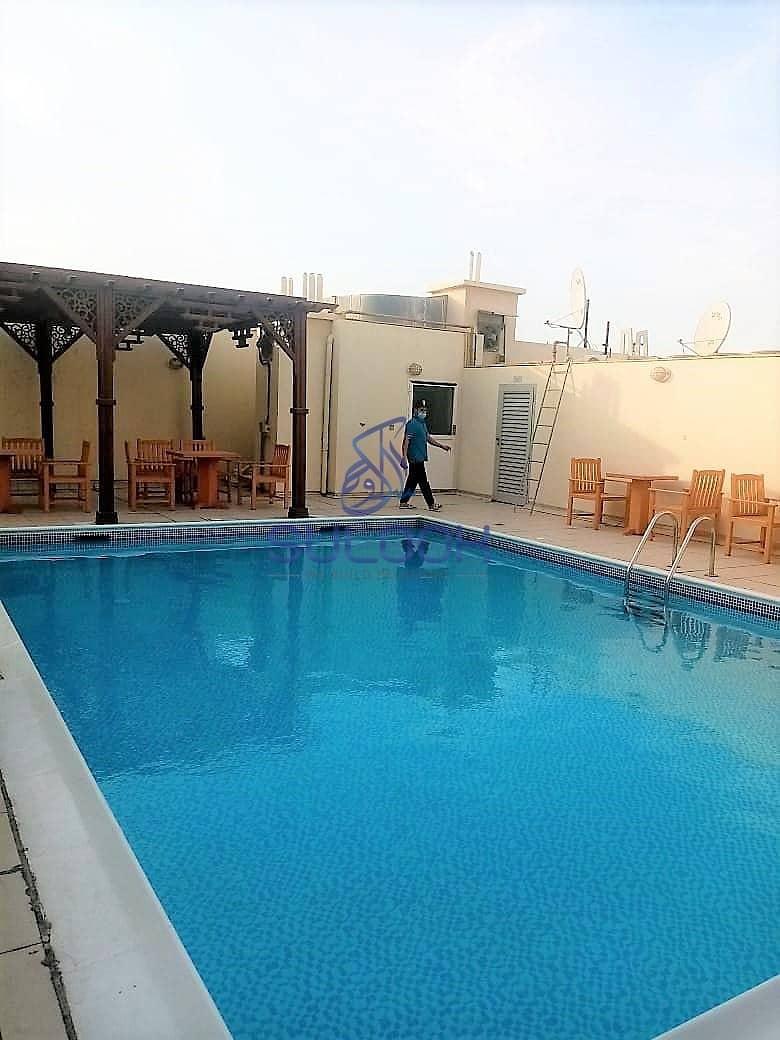 16 Lavish 2BHK with 3 washroom in Al Nahyan - Mamoora