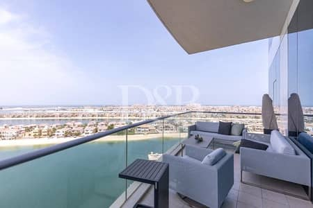 3 Bedroom Apartment for Sale in Palm Jumeirah, Dubai - Stunning Sea View | Upgraded 3 Bedroom
