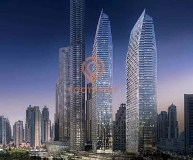 3 Bedroom Flat for Sale in Downtown Dubai, Dubai - Unobstructed view of Burj Khalifa and Dubai Fountains