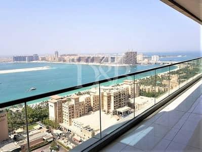 فلیٹ 3 غرف نوم للايجار في دبي مارينا، دبي - Full Sea View   Fully Furnished 3BR   AC FREE