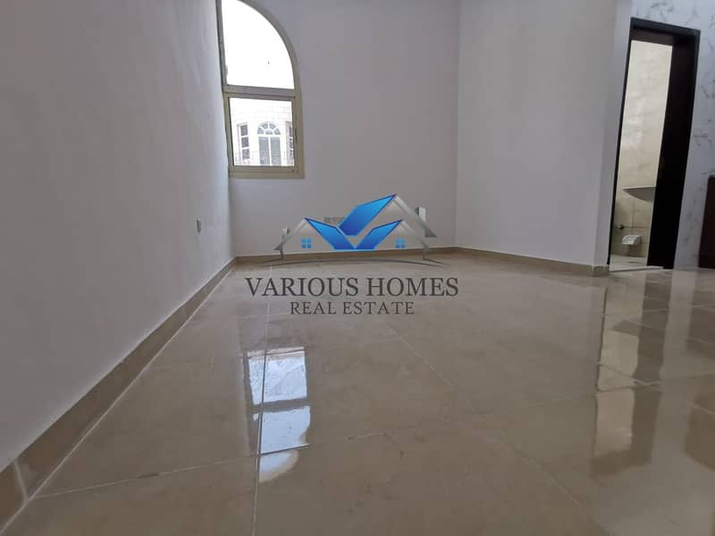 8 Monthly 3500! Fabulous 01 Bedroom Hall Apartment with Water Electricity Free at Al Zaab Area