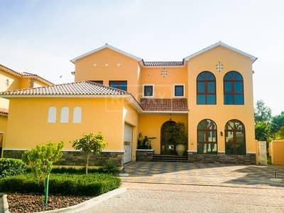 5 Bedroom Villa for Sale in Jumeirah Golf Estate, Dubai - 5-Bed | 3 Halls with Elevator | Park Views