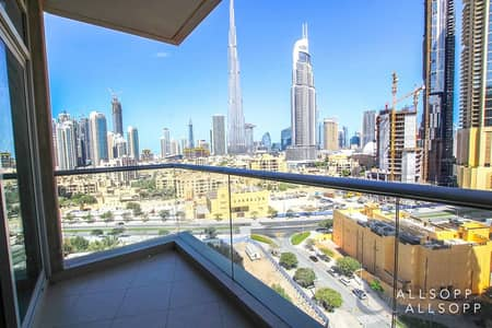 2 Bedroom Apartment for Sale in Downtown Dubai, Dubai - 2 Beds | Burj Khalifia View | 1487 Sq. Ft.