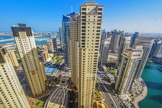 High Floor |Sea and Marina Views| Rented| Murjan 1
