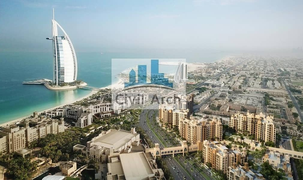 11 NEXT TO BURJ  AL ARAB !! PREMIUM QUALITY 1/BR