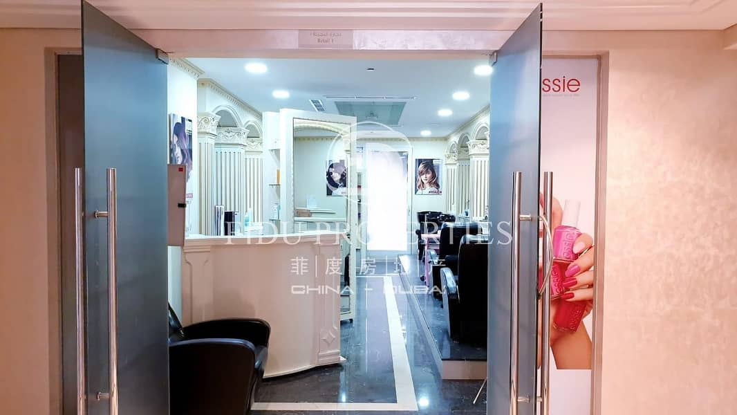 Fully Fitted   Furnished   Well Equipped Salon