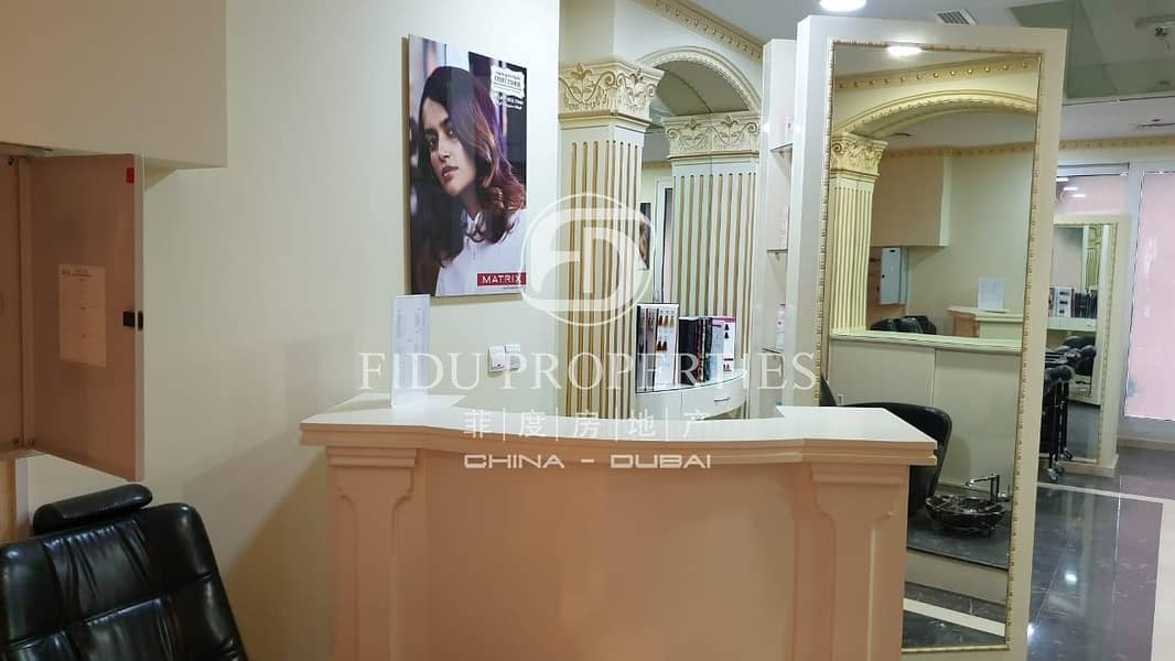 2 Fully Fitted   Furnished   Well Equipped Salon