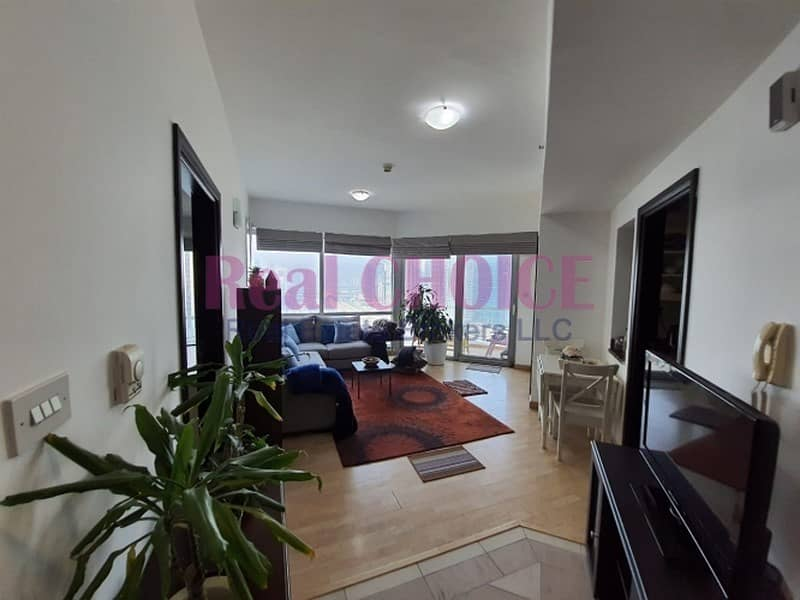 2 Bed Room Furnished  With Stunning  View