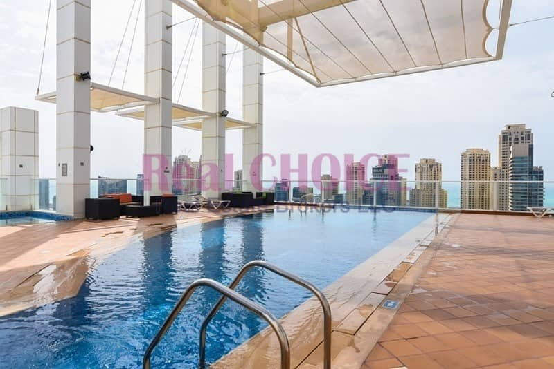 10 2 Bed Room Furnished  With Stunning  View
