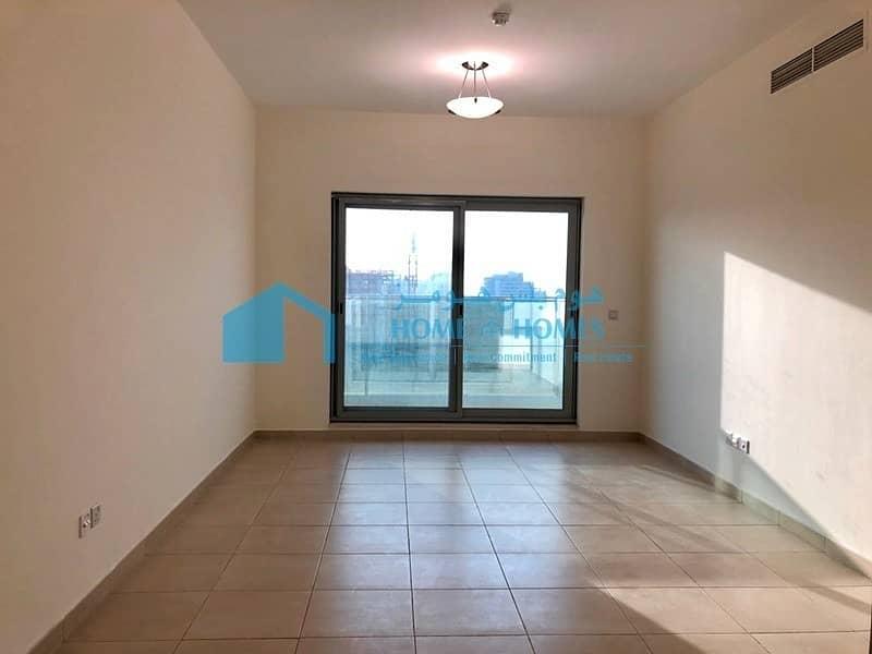 One Bed w/ Open Kitchen & Balcony in Warsan 4!