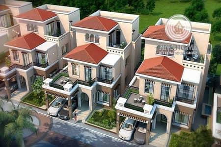Fabulous 6 Villas Compound in Shakhbout city