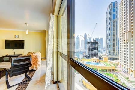 4 Bedroom Apartment for Rent in Jumeirah Beach Residence (JBR), Dubai - Spacious | Unfurnished | Vacant in Mid of August