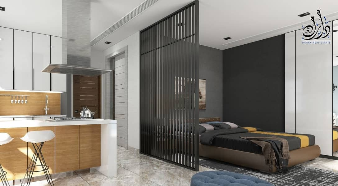 Large affordable luxury studio in the  middle of Dubai.