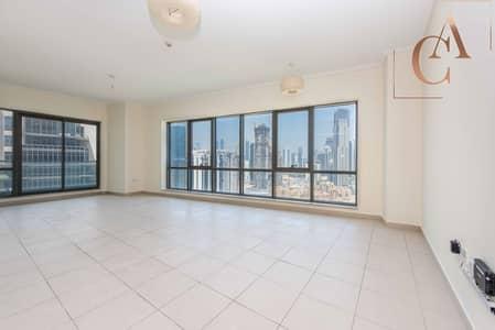 2 Bedroom Apartment for Rent in Downtown Dubai, Dubai - Burj & Fountain View | Huge 2 Bedroom + Study