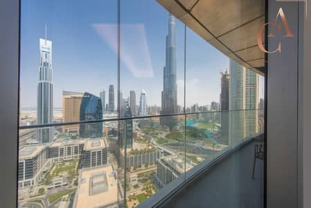 3 Bedroom Flat for Rent in Downtown Dubai, Dubai - Partial Sheikh Zayed View | Fully Furnished