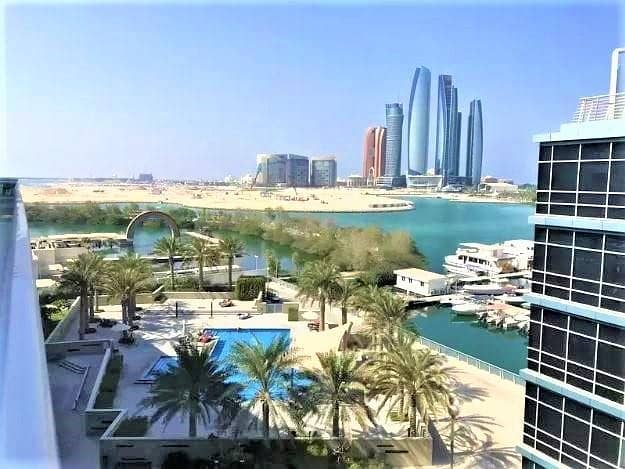 2 Spacious Waterfront Studio in Al Marasy Al Bateen