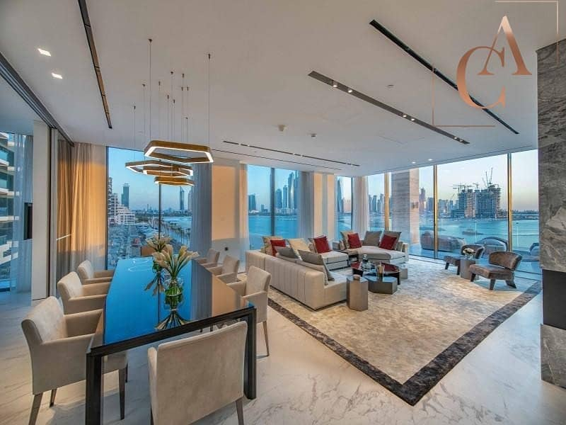2 Luxurious 3 Bedroom Penthouse in Palm Couture