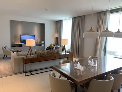 3 Bedroom Flat for Rent in Downtown Dubai, Dubai - Luxurious 3BR + Maids  I Vida Residences I Fountain View