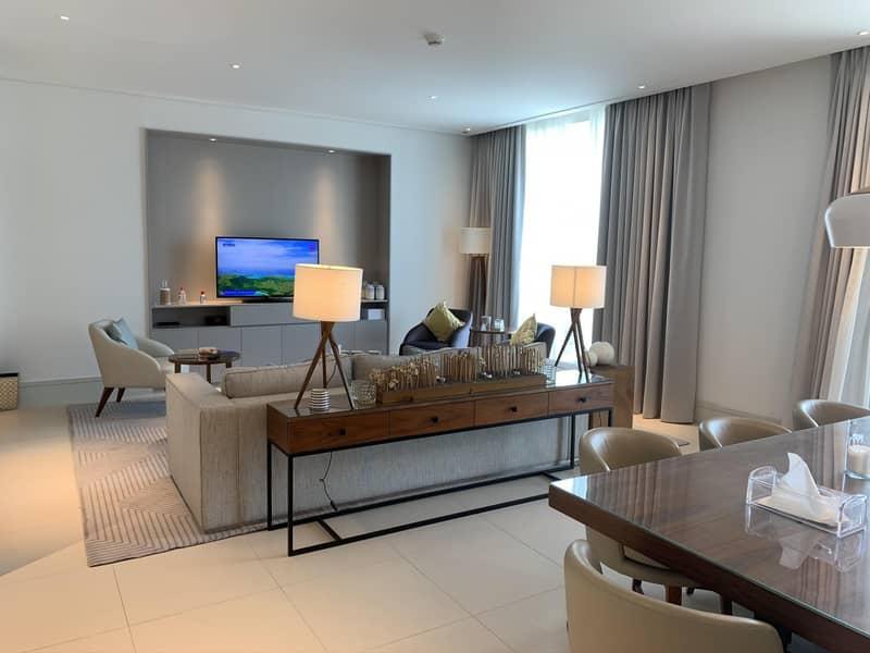 2 Luxurious 3BR + Maids  I Vida Residences I Fountain View