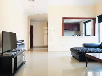 شقة 1 غرفة نوم للايجار في دبي مارينا، دبي - Time Place Tower   Furnished   1 Bedroom only 47k