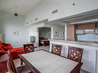 فلیٹ 1 غرفة نوم للايجار في وسط مدينة دبي، دبي - Spacious 1 Bedroom   Podium Level   Furnished