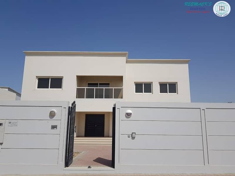 5 B/R VILLA IN AL BARASHI AREA-CALL  056-6358222