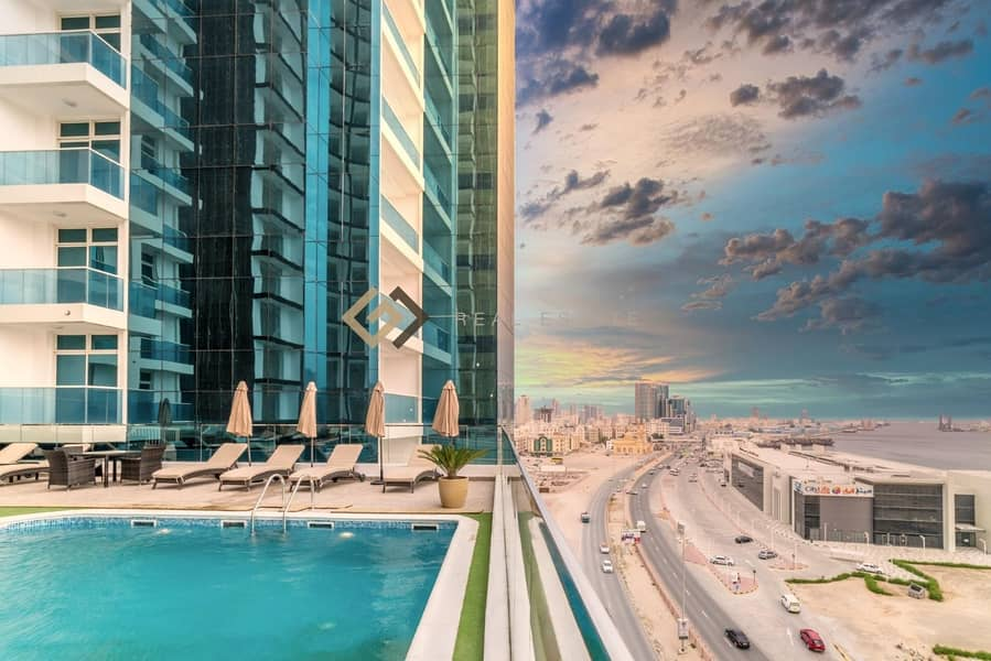 26 Oasis Towers 2 bedroom Luxury Apartment in Ajman
