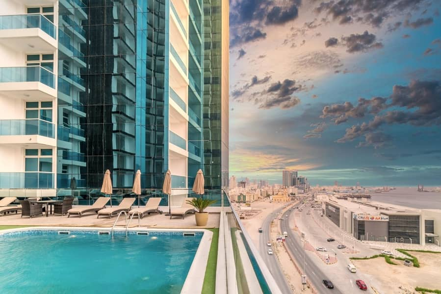 2 Bedroom Apartment in Oasis Towers Ajman