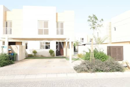 End unit with landscaped garden in Al Nargis