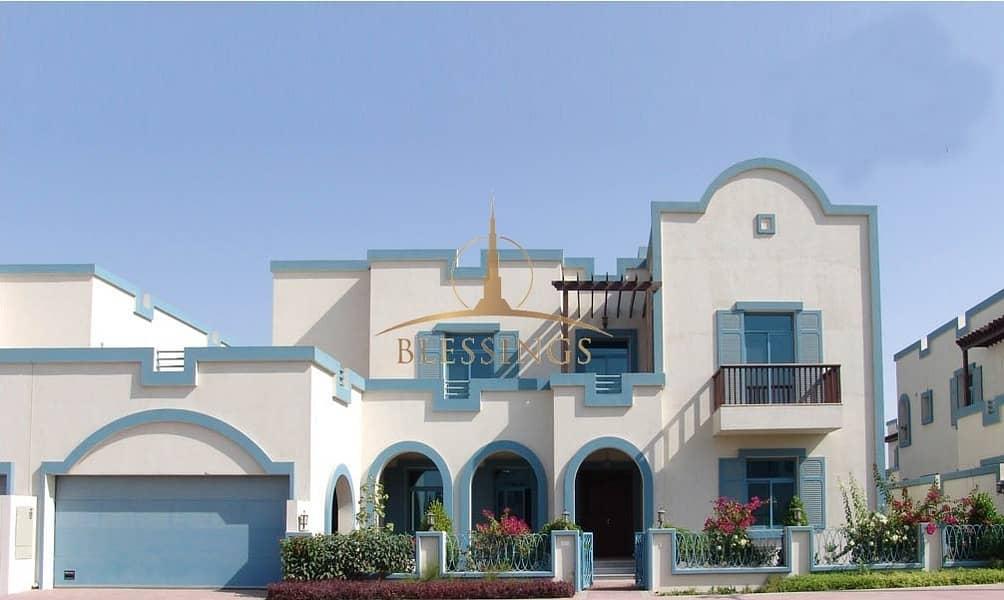 2 Semi Detached Aegan Style Villa   Rented   Unfurnished