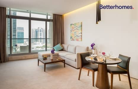 1 Bedroom Apartment for Rent in Dubai Marina, Dubai - 12 Cheques | 5 Star Hotel| Rolling Contract