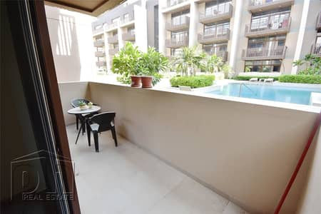 فلیٹ 1 غرفة نوم للايجار في قرية جميرا الدائرية، دبي - 1 Bed | Pool View | Ground Floor