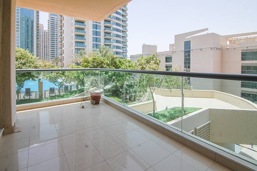 10 Spacious Balcony | Pool View | Chiller Free