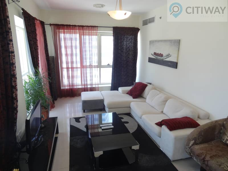 Fully Furnished 1 BR | Balcony | Reduced Price