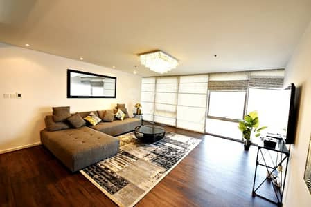 3 Bedroom Flat for Rent in Culture Village, Dubai - Fully Creek View - Furnished - High floor