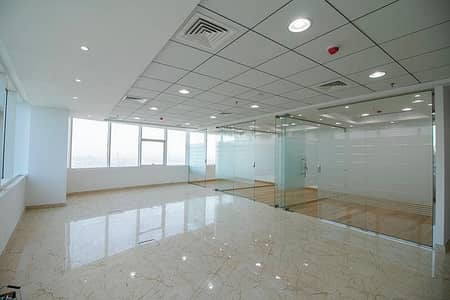 Office for Rent in Jumeirah Lake Towers (JLT), Dubai - Fully Fitted Office  | High Floor | Fantastic View