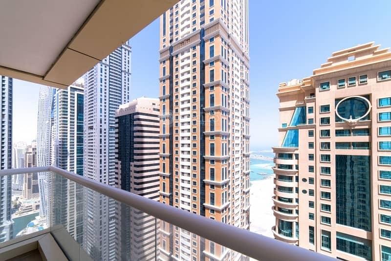 Exquisite 2 BR | Partial Sea View | High Floor