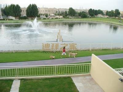 فیلا 3 غرف نوم للايجار في الينابيع، دبي - Full Lake View ll 3BHK + Study + Maid ll Well Maintenance