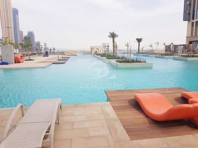 1 Bedroom Flat for Rent in Business Bay, Dubai - Elegantly Furnished 1 Bedroom Apt with Canal Views