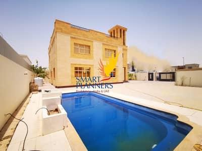 فیلا 5 غرف نوم للايجار في البرشاء، دبي - A Spacious Design With Big Pool and Parking