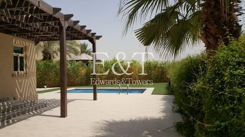 2 Stylish 4BR + Maids Villa | With Private Pool | JI