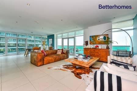 شقة 3 غرف نوم للبيع في شاطئ الراحة، أبوظبي - Priced to selI I Front Sea View I Upgraded