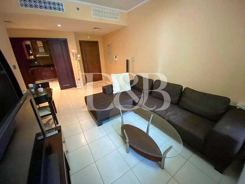 2 1 Bed+1 Bath | Mid Floor | Fully Furnished