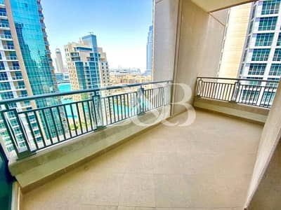 2 Bedroom Apartment for Sale in Downtown Dubai, Dubai - Largest Layout | Bright & Quiet | 2 Balconies