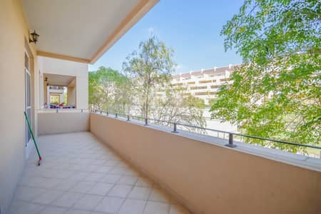 فلیٹ 1 غرفة نوم للايجار في موتور سيتي، دبي - Cozy 1 bed garden facing in Barton House