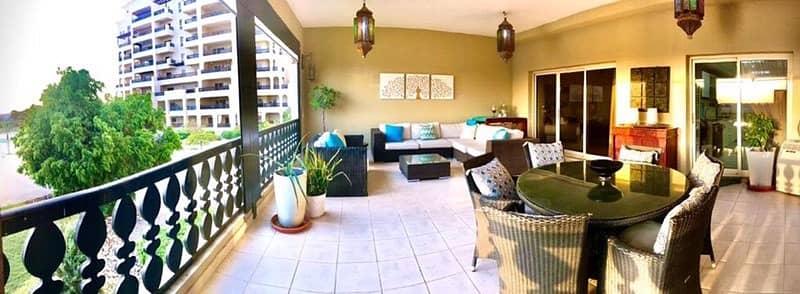 فلیٹ 3 غرف نوم للايجار في قرية الحمراء، رأس الخيمة - شقة في قرية الحمراء 4 غرف 105000 درهم - 4694977