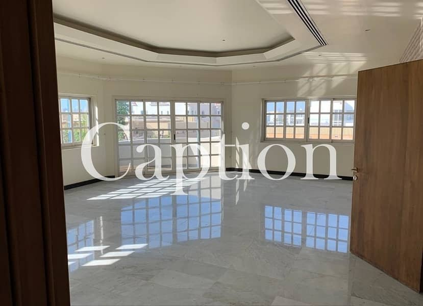Independent Villa in  Al Barsha 3 | with private pool